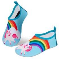 Torotto Kids-Water-Shoes Pool-Shoes Barefoot Quick-Dry Toddler-Swim-Shoes Non-Slip Aqua-Socks for Girls Boys Beach Yoga