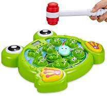 Interactive Whack A Frog TG702 - Fun Gift For Boys & Girls Of Age 3 4 5 6 7 8, Learning, Active, Early Developmental STEM Pounding Toy For Toddlers