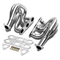 DNA Motoring HDS-DPF-986 Stainless Steel Exhaust Header Manifold