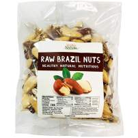 Beyond Nature, [Vacuum Sealed] Superior to Organic Raw Brazil Nuts, 3 LB