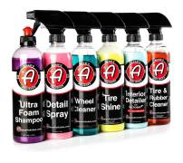 Adam's Elite 6 Pack - Our Top Selling Car Detailing Products Bundled Together - Clean, Shine & Protect Your Interior, Wheels, Tires & Paint (Elite)