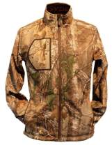 Gerbing Gyde Torrid Softshell Heated Jacket for Men – 7V Battery Electric Heated Softshell Jacket for Outdoors, Hunting, Camping, Fishing - Real Tree Camo Print Heating Clothing