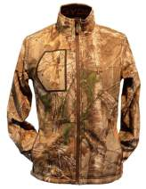 Gerbing Gyde Torrid Softshell Heated Jacket for Men – 7V Battery Electric Heated Softshell Jacket for Outdoors, Hunting, Camping, Fishing - Real Tree Camo Print Heating Clothing