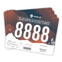 ROAD iD Running Bibs - Race Bibs, Race Numbers, Sports Bibs (101-200)