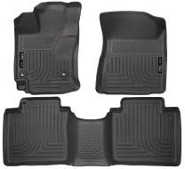 Husky Liners Fits 2015 Toyota Venza Weatherbeater Front & 2nd Seat Floor Mats