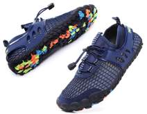 MOHEM Women's Men's Poseidon Water Shoes Lightweight Quick Dry Barefoot Sneaker for Driving Walking Aqua Sports Beach Swim Surf Exercise