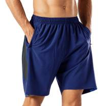 Men's Cotton Shorts Casual Shorts Classic Cotton Athletic Shorts with Pockets - 7 Colors