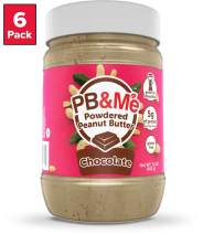 PB&Me Powdered Peanut Butter, Keto Snack, Gluten Free, Plant Protein, Chocolate, 16 Oz, 6Count