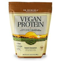 Dr Mercola Vegan Protein (Sweet Cinnamon Flavour, 690g) by Dr. Mercola