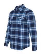 Burnside Men's Yarn-Dyed Long Sleeve Flannel Shirt