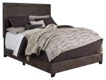 Signature Design by Ashley Dolante Bed, King, Brown