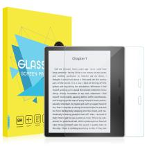 MoKo All-New Kindle Oasis Screen Protector (9th and 10th Gen - 2017 and 2019 Release) - [Scratch Terminator] Premium HD Clear 9H Hardness Tempered Glass Tablet Screen Protector Film