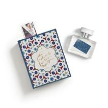 Fictions Perfume Spray - Istanbul. She Listened For His Whisper - By Olivia Jan - Spicy Florals - Peach Skin, Black Pepper, Saffron, Rose Petal, Incense, Oud Wood, Blond Woods, Labadanum - 1.7 oz
