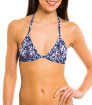 Kiniki Oceana Tan Through Bikini Top Swimwear