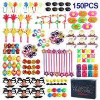 Wekity Party Favors for Kids,150PCS Party Supplies Small Bulk Toy Assortment for Kids Birthday Party Classroom Rewards Carnival Prizes Pinata Filler Treasure Box Goodie Bag Filler (150 PCS)