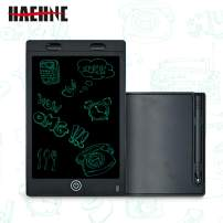 Haehne 12 Inch LCD Writing Tablet,Electronic Writing&Drawing Board Doodle Pad, Portable Smart Touch LCD Graphic Tablet, Gifts for Kids Office Writing Board (Black)