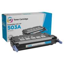 LD Remanufactured Toner Cartridge Replacement for HP 503A Q7581A (Cyan)
