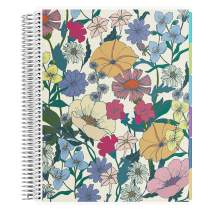 Erin Condren 12 - Month 2020-2021 Flower Power Teacher Lesson Planner (August 2020-July 2021) - Kaleidoscope Interior Design, 210 Pages of Planning Potential