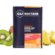 GU Energy Roctane Ultra Endurance Energy Drink Mix, 10 Single-Serving Packets, Tropical Fruit