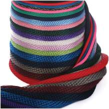Ravenox Solid Braid Utility Rope | Made in the USA | All Purpose Solid Braid MFP Derby Cord for Crafts, Sports, Landscaping, Horse Tack, Pets & Décor | Dozens of Colors & Diameters of Rope by the Foot