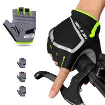 NICEWIN Cycling Gloves Motorcycle Bike Mountain- Road Bicycle Men Women Padded Antiskid Touch Screen