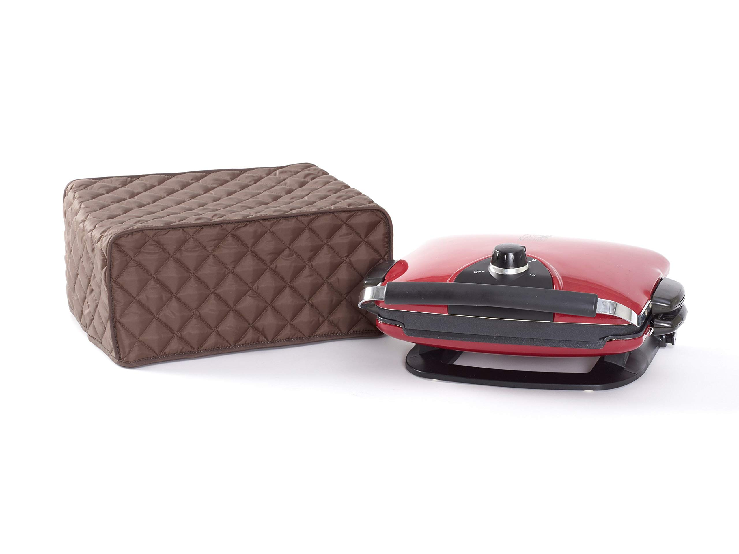 Covermates Keepsakes – Foreman Grill – Dust Protection - Stain Resistant - Washable – Appliance Cover - Bronze