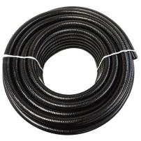 "(1/2"" Dia. x 100 ft) - HydroMaxx Black Flexible PVC Pipe for Koi Ponds, Irrigation and Water Gardens"