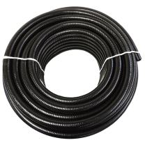 "(2"" Dia. x 100 ft) - HydroMaxx Black Flexible PVC Pipe for Koi Ponds, Irrigation and Water Gardens"
