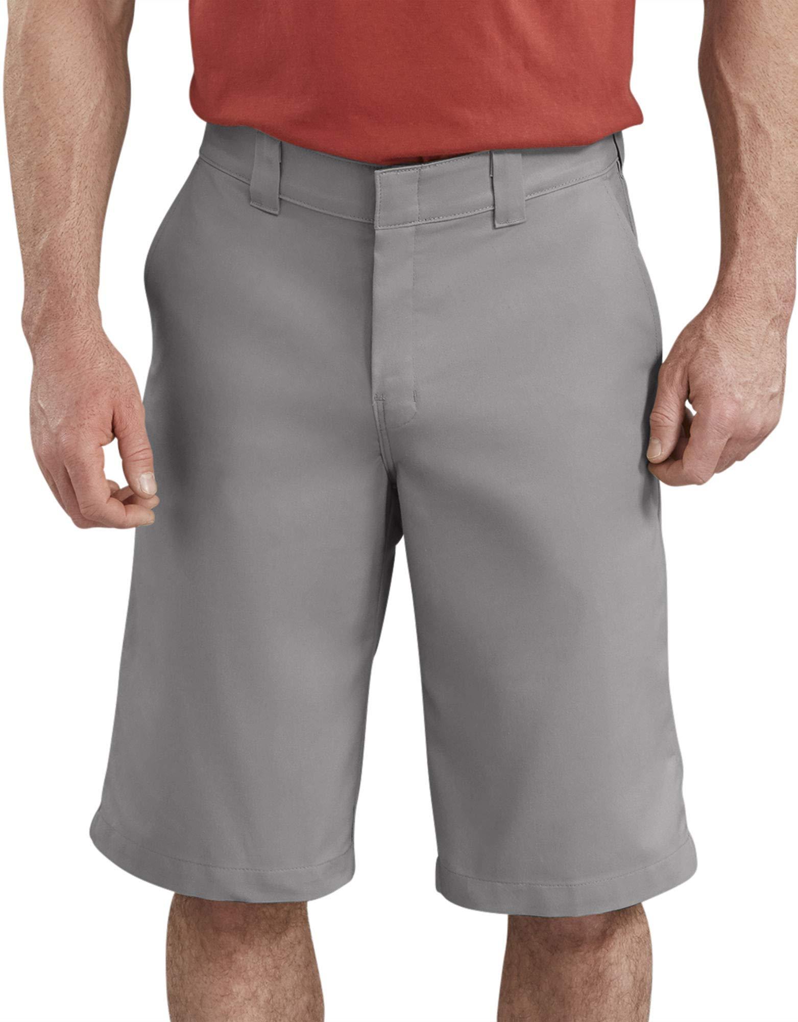 Dickies Men's 13 Inch Flex Flat Front Active Waist Short Big