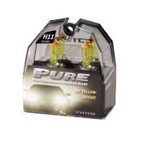 Putco 230011JY Pure Halogen Headlight Bulb - Jet Yellow - H11 (Pair)