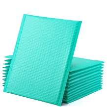 GSSUSA Teal Poly Bubble Mailers 8.5x12 Padded Envelopes #2 Shipping Envelopes Bubble Mailers Self Sealing Padded Envelope 100Pack