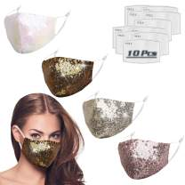 Reusable Fashion Face Mask For Outdoor Indoor ( Style and Quantity as Pic Show )