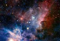 AOFOTO 7x5ft Nebula Backdrop Cosmic Galaxy Photography Background Starry Sky Universe Outer Space Kid Boy Girl Adult Artistic Portrait Photo Shoot Studio Props Video Drop Vinyl Wallpaper Drape
