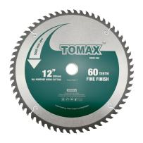 TOMAX 12 Inch 60 Tooth ATB Fine Finish General Purpose Woodworking Saw Blade
