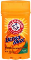 ARM & HAMMER ULTRAMAX Anti-Perspirant Deodorant Invisible Solid Fresh 2.80 oz (Pack of 9)