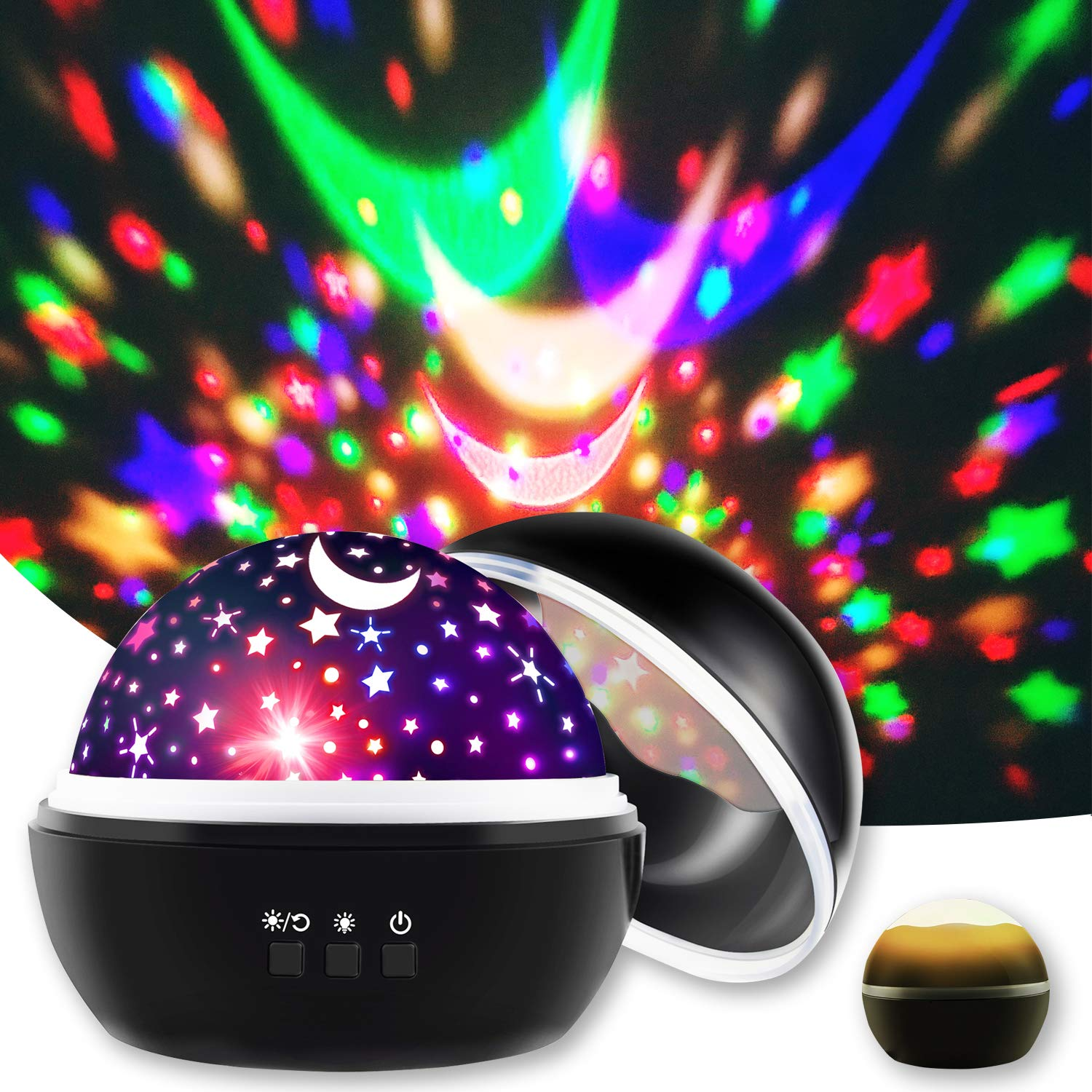 16 Modes Soothing Star Projector for Bedroom, Fall Asleep Faster Solution for Kids and Adults at Bedtime, Sensory Toys for 3 4 5 6 7 8 9 Year Old Boys Girls