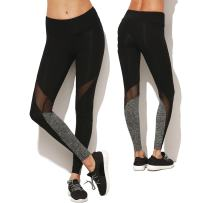 KIWI RATA Women Mesh Trousers Gym Workout Capris Yoga Pants Running Leggings