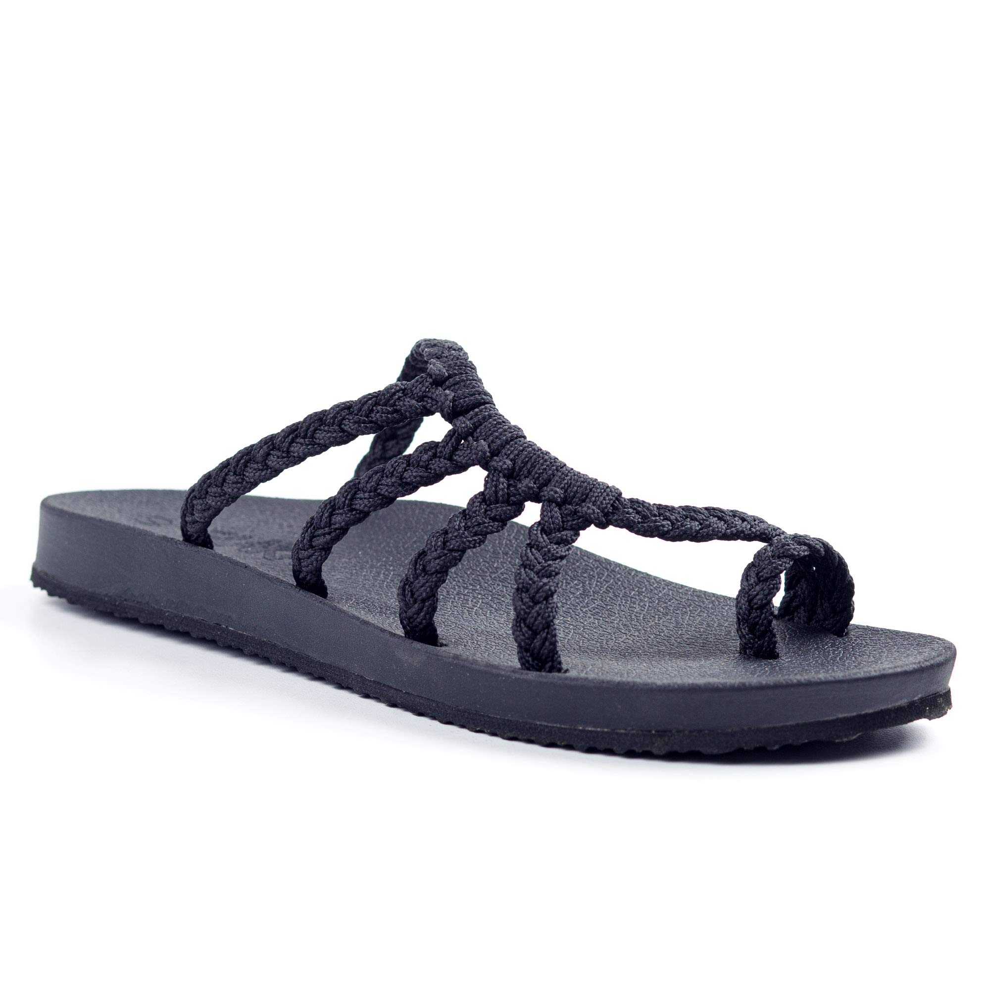 Plaka Relief Flip Flops for Women with Arch Support | Comfy Sandals for Women | Perfect for The Beach, Long Walks or Poolside
