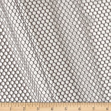 Carr Textile Air Mesh Black Fabric by The Yard