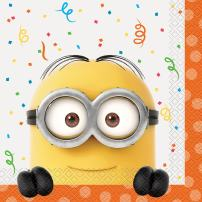 Despicable Me Minions Party Napkins, 16ct