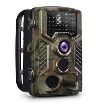 OGL Trail Camera 16MP 1080P 2.4'' LCD Game Hunting Camera 120° PIR Sensor 0.2s Fasts Trigger Night Vision up to 65ft/20m with 46Pcs 850nm Infrared LED IP56 Waterproof 32GB for Wildlife Scouting