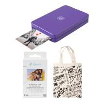 Lifeprint 2x3 Portable Photo and Video Printer (Purple) Starter Kit