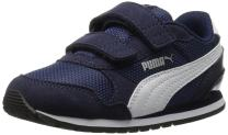PUMA Kids' St Runner hook and loop fastener Sneaker