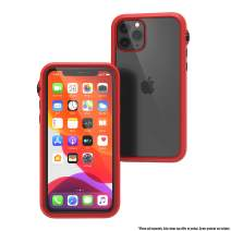 Catalyst - Case for iPhone 11 Pro Case with Clear Back, Heavy Duty 10ft Drop Proof, Truss Cushioning System, Rotating Mute Switch Toggle, Compatible with Wireless Charging, Lanyard Included - Red
