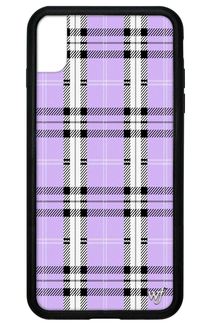 Wildflower Limited Edition Cases for iPhone Xs Max (Lavender Plaid)