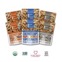 Coconut Chips Variety Pack, 3 Ounce (Pack of 6)