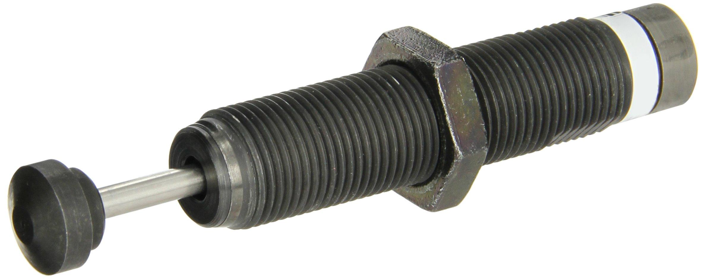 Parker MA225 Steel Adjustable Miniature Shock Absorber, Standard Duty, 3/4 inches Stroke, 3/4 UNF