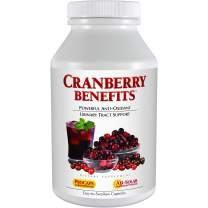 Andrew Lessman Cranberry Benefits 120 Capsules – Supports Bladder, Kidney and Urinary Tract Health. High Potency Standardized Concentrate of Cranberry Fruit, Small Easy to Swallow Capsules