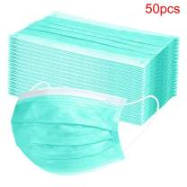 Notekd Kids Disposable 𝐌𝐀𝐒𝐊, 3-Layer 𝐌𝐀𝐒𝐊𝐒 with Elastic Earloop, Anti Dust Breathable Disposable Earloop Mouth Face 𝐌𝐀𝐒𝐊 (C:50PC)