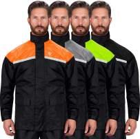 Viking Cycle Motorcycle Rain Gear - Two Piece Motorcycle Rain Suit